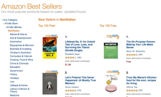 Amazon 1 non-fiction