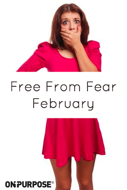 Free From Fear February