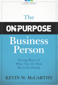 book cover - the on purpose business person