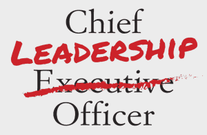 Chief Leadership Officer book partial front cover