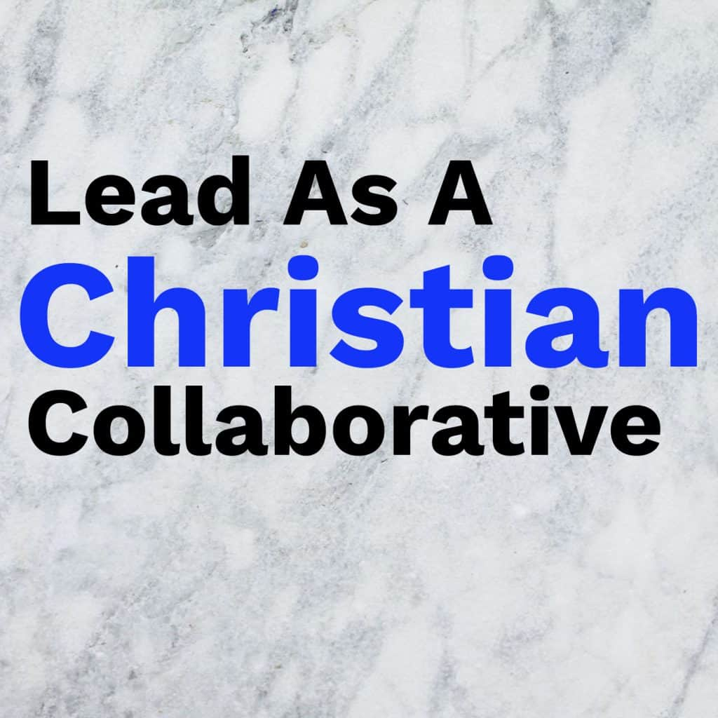 Lead as a Christian Collaborative logo