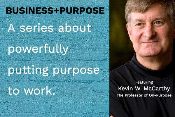Business + Purpose landing page image